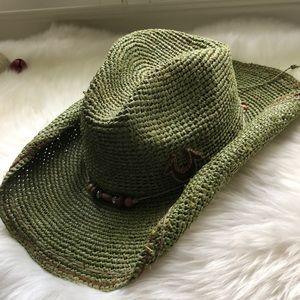 True Religon Straw Cowboy Hat
